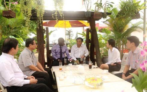 Giám đốc WB tại VN: Mô hình Cà phê doanh nhân-doanh nghiệp là cầu thị