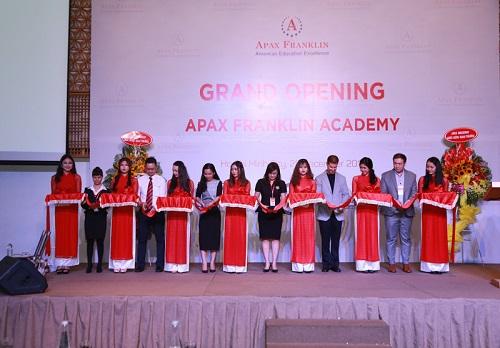 Apax Franklin Academy ra mắt trung tâm thứ 2 tại TP Hồ Chí Minh.