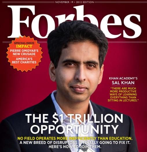 Sal Khan là người đã đưa một tầm nhìn mới của ông về tương lai cho nền giáo dục trực tuyến trên toàn cầu