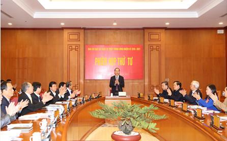 Ban Chỉ đạo Cải cách tư pháp Trung ương họp phiên thứ 4