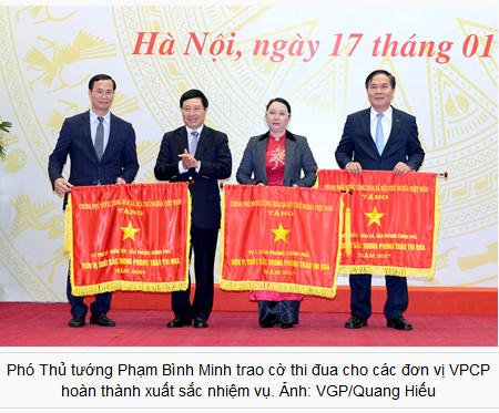 Thủ tướng: VPCP hãy lan tỏa phương châm hành động '10 chữ'