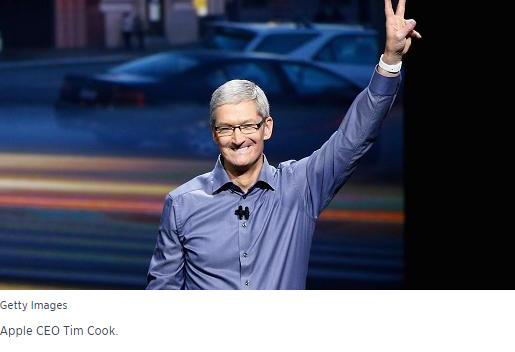 """Giám đốc điều hành của Apple """"Tim Cook""""  kêu gọi các thủ lĩnh hãy"""