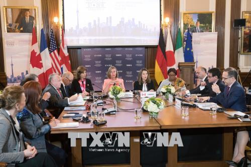 Hội nghị an ninh G7 trước nhiều thách thức - chinhphu.vn