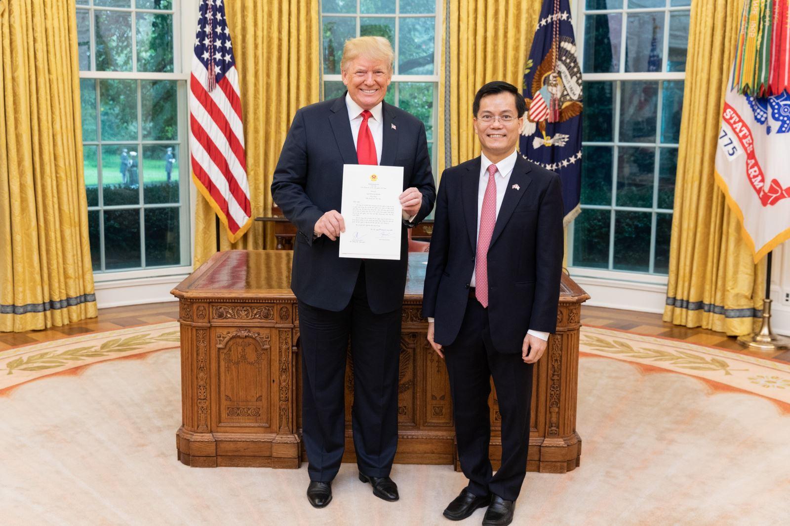 Quan hệ Việt Nam - Hoa Kỳ đang phát triển mạnh mẽ, năng động