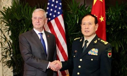 Quan hệ quân sự Mỹ - Trung căng thẳng giữa chiến tranh thương mại