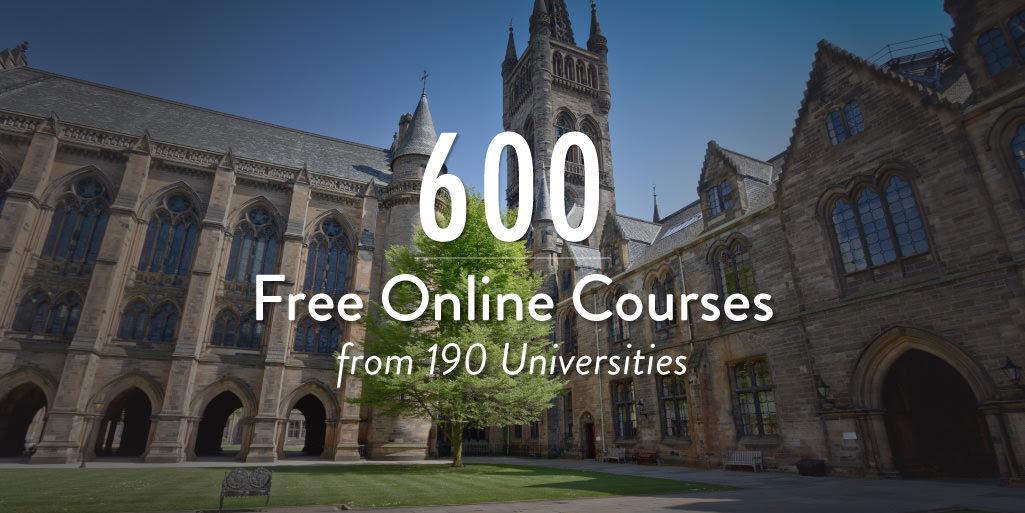 190 trường đại học nổi tiếng trên thế giới vừa giới thiệu 900 khóa học trực tuyến miễn phí.