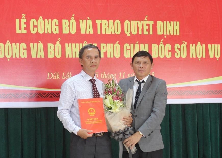 Nhân sự mới TPHCM, Bắc Ninh, Đắk Lắk