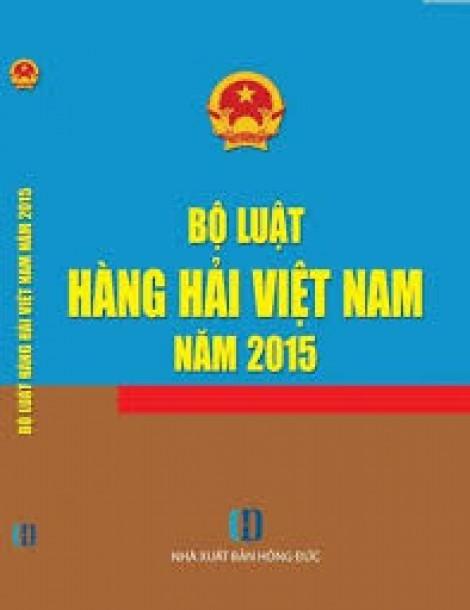 BỘ LUẬT HÀNG HẢI VIỆT NAM 2015