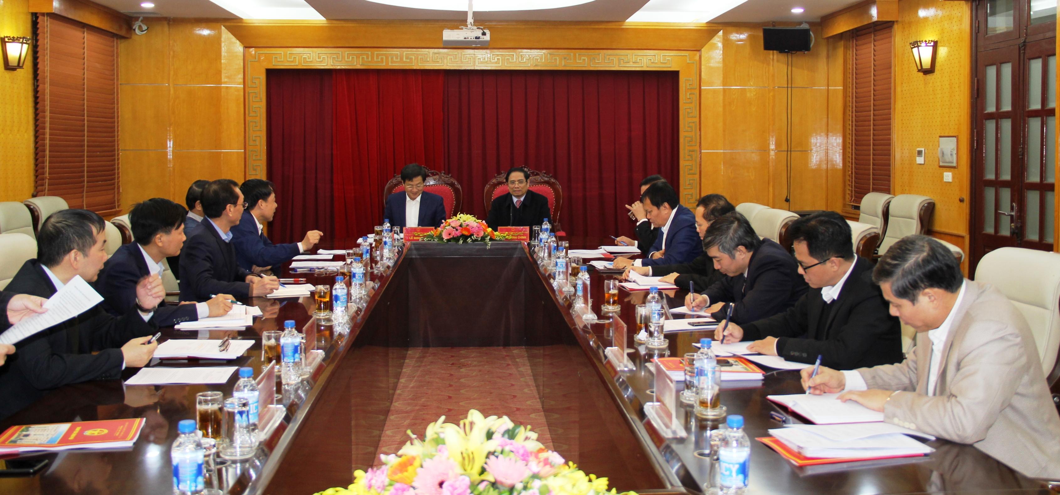 Đoàn kiểm tra của Bộ Chính trị làm việc với Ban Cán sự Đảng Thanh tra Chính phủ