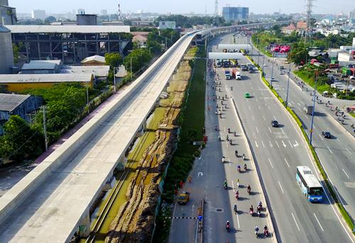 TP HCM xin Trung ương ứng 2.150 tỷ cho tuyến Metro Số 1