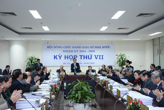 Quy chế tổ chức và hoạt động của Hội đồng Giáo sư