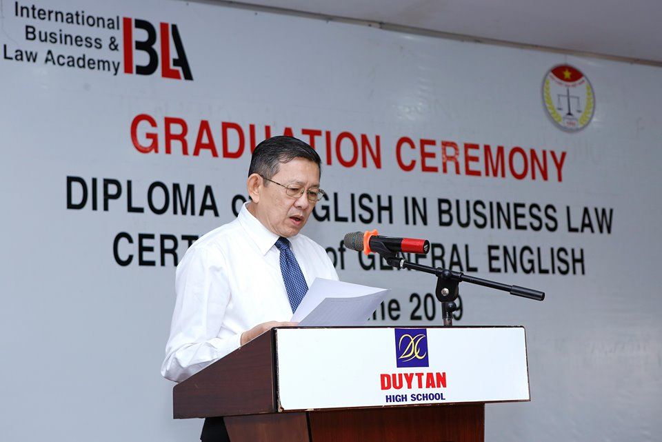Chương trình đào tạo Diploma of English in Business Law của Viện IBLA