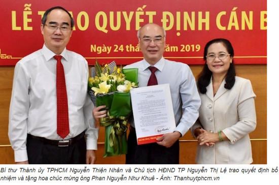 Thành ủy TPHCM có Trưởng Ban Tuyên giáo mới
