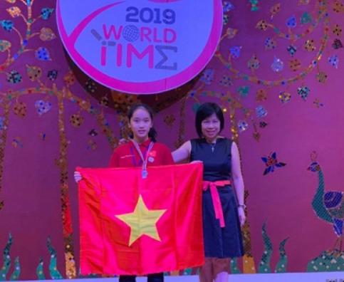 Học sinh Hà Nội giành 22 giải trong World Time 2019