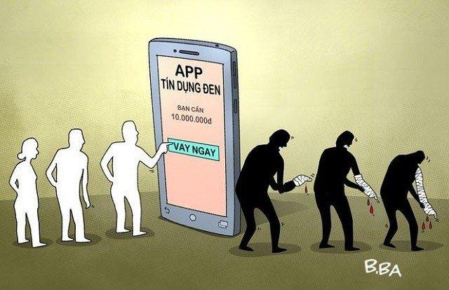 Sập bẫy vay tiền bằng app trên mạng khiến nạn nhân điêu đứng