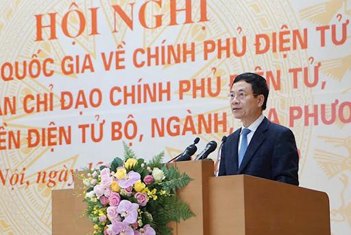 """Bộ trưởng Nguyễn Mạnh Hùng: """"Xây dựng thể chế và các nền tảng dùng chung đóng vai trò quan trọng trong xây dựng CPĐT"""""""