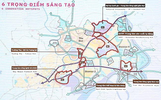 3 khu vực ở phía Đông Tp.HCM vừa được đề xuất quy hoạch lại như thế nào?