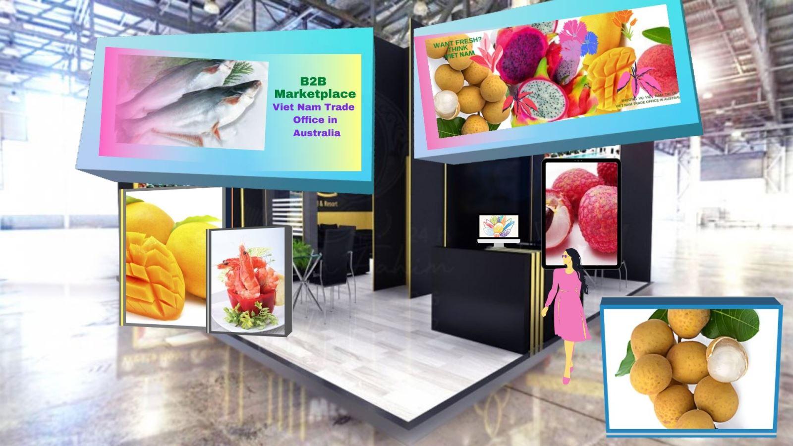 Ứng dụng trực tuyến kết nối thương mại, đầu tư Việt-Australia