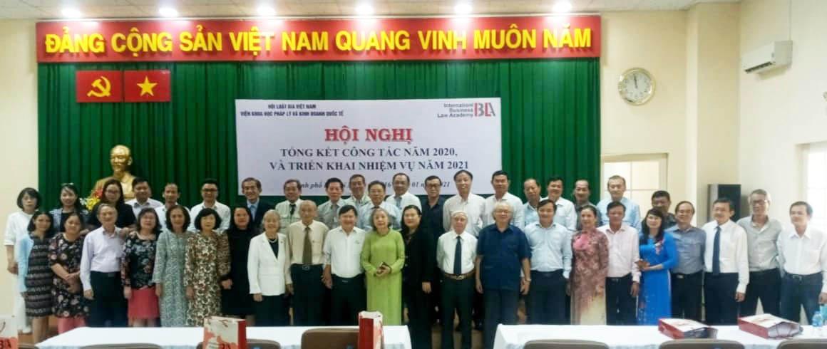 Viện  IBLA thuộc Trung ương Hội Luật gia Việt Nam tổ chức Hội nghị Tổng kết công tác năm 2020