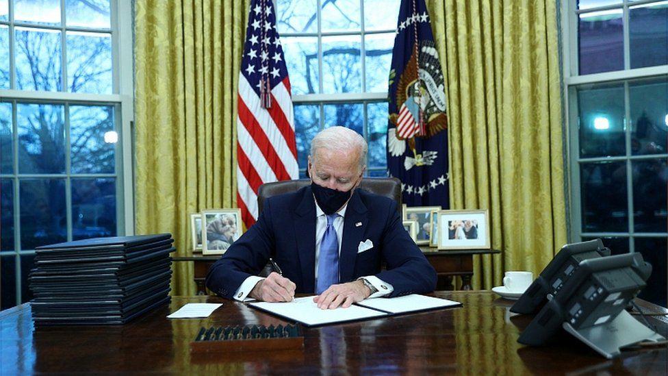 Tân Tổng thống Mỹ công bố chiến lược quốc gia chống COVID-19
