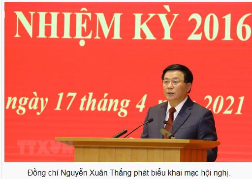 Tổng Bí thư Nguyễn Phú Trọng dự Hội nghị Tổng kết nhiệm kỳ 2016-2021 Hội đồng Lý luận Trung ương