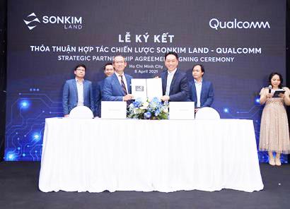 SonKim Land và Qualcomm hợp tác chiến lược