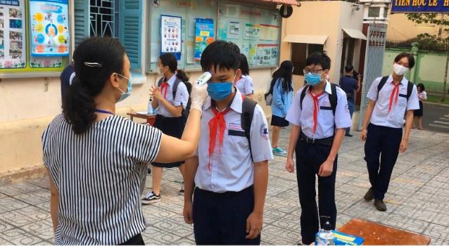 Học sinh TPHCM kết thúc thi học kỳ trước 9/5